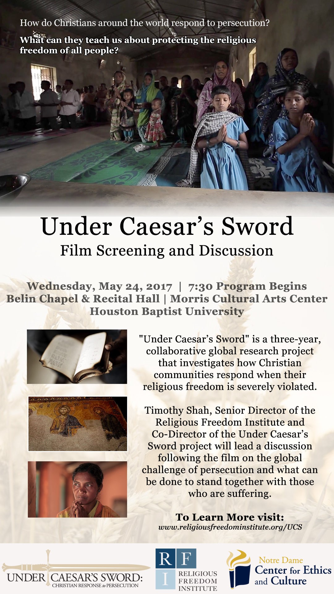 On May 24th, a special screening of the new documentary film